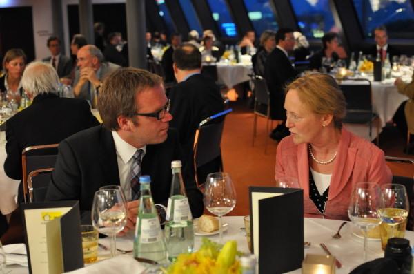 Prof. Dr. Artz und Frau Strube-Edelmann