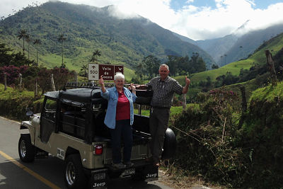 Jeep Ride to Cocora Valley