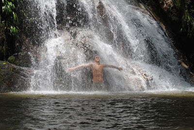 Waterfalls in Minca