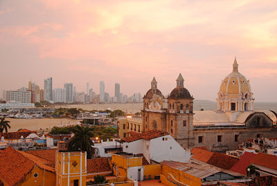 Panoramic View of Cartagena