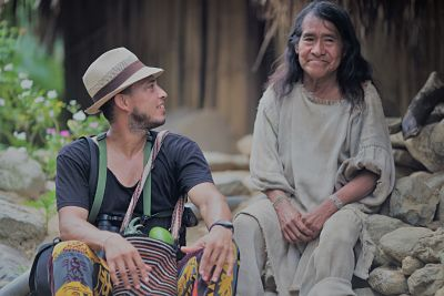 Kogi Indian and Guide Christian
