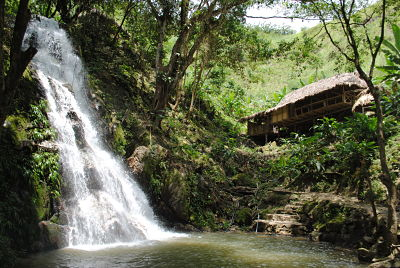 Arimaka Waterfalls in Minca