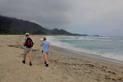 Cañaveral Beach at Tayrona National Park