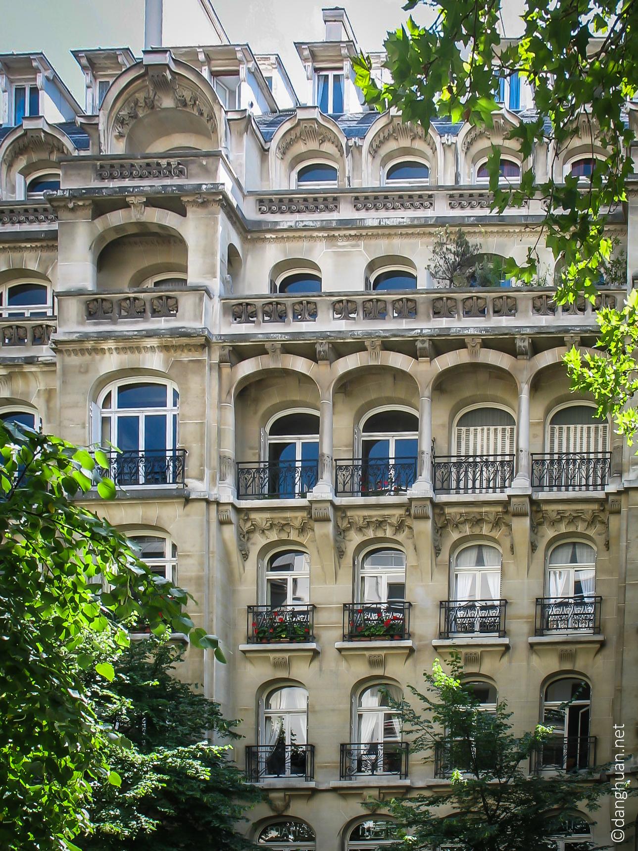 Architecte : Charles Plumet - 39 Av.VictorHugo - 1903