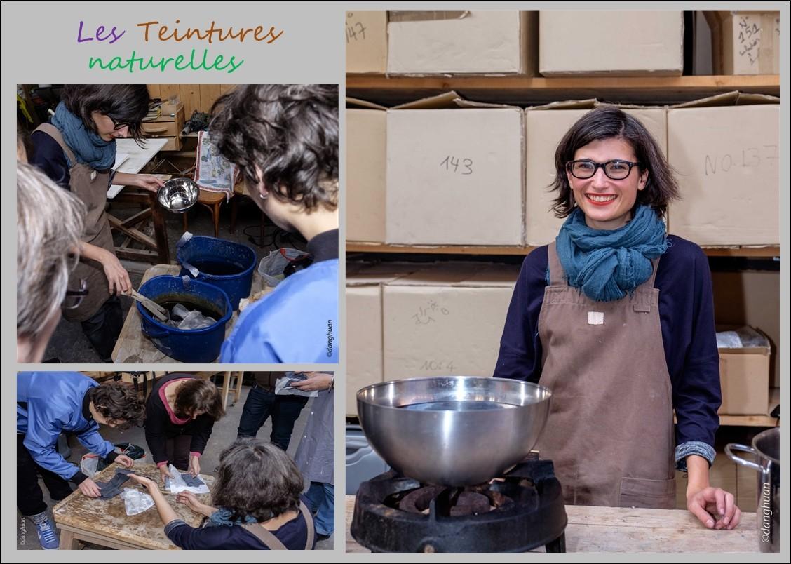 Mathilde BOURDIN - Teinturière aux colorants naturels