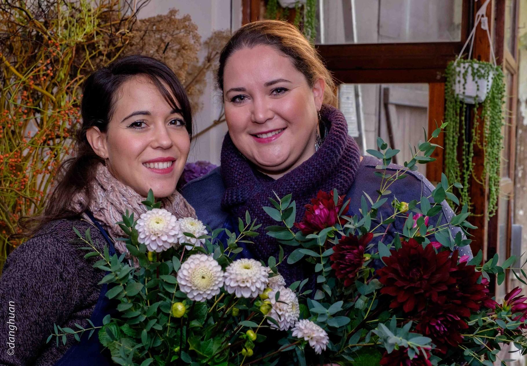 et voilà les bouquets ...