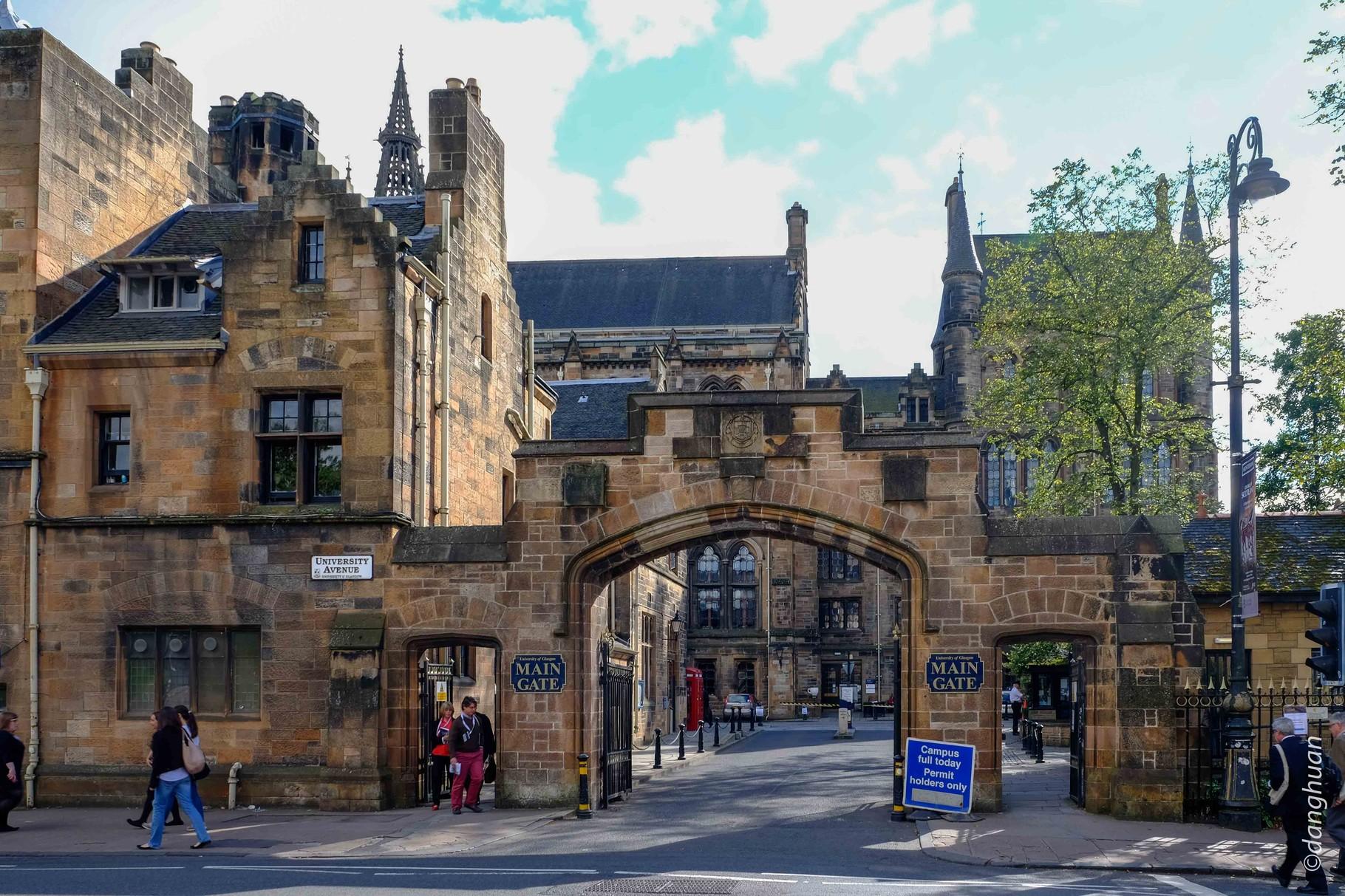Université de Glasgow - Portail
