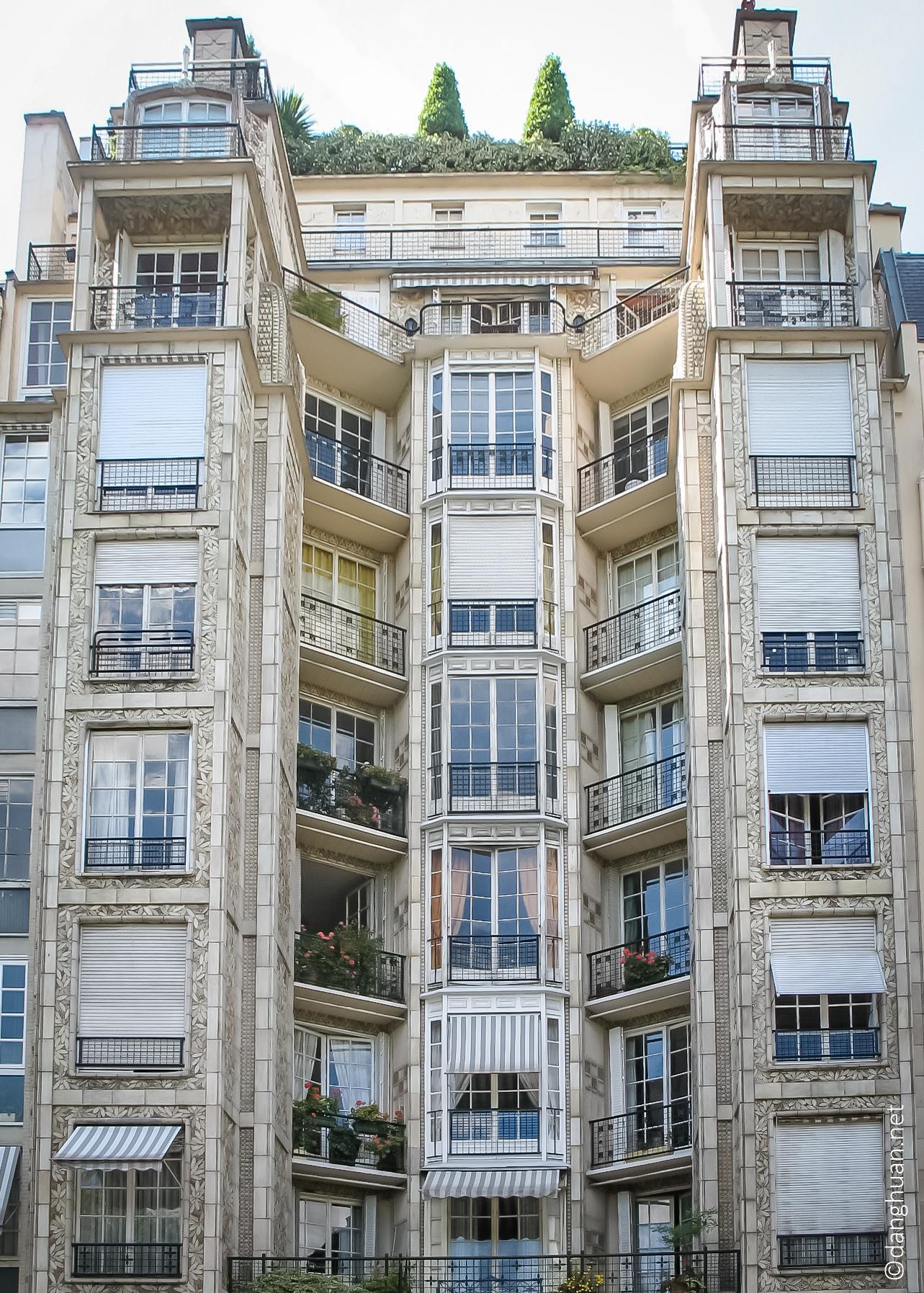 Architecte: Auguste Perret - 25bis Rue Franklin - 1904