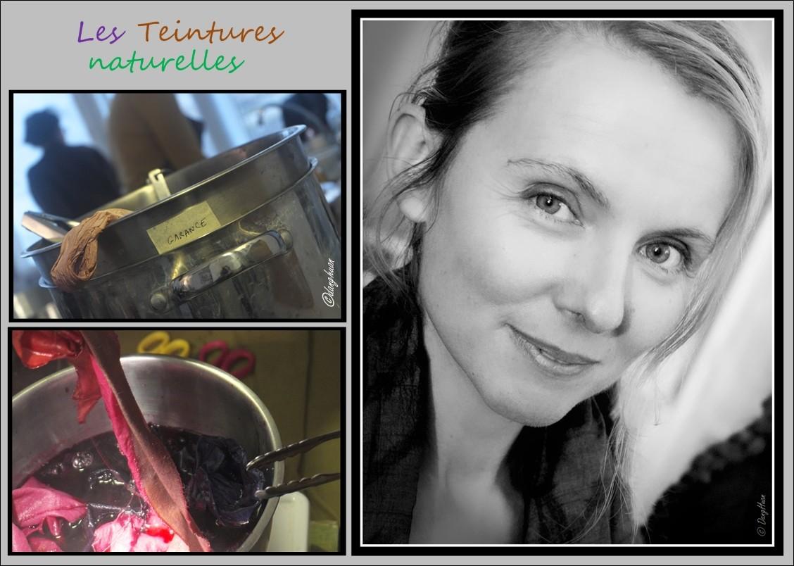 Sandrine ROZIER - Teinturière aux colorants naturels