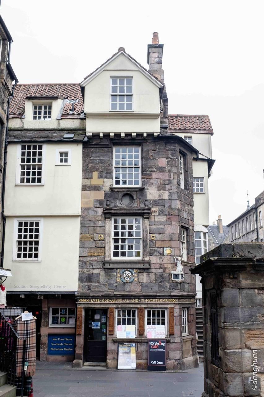 La maison de John Knox leader de la réforme protestante au 16ème siècle