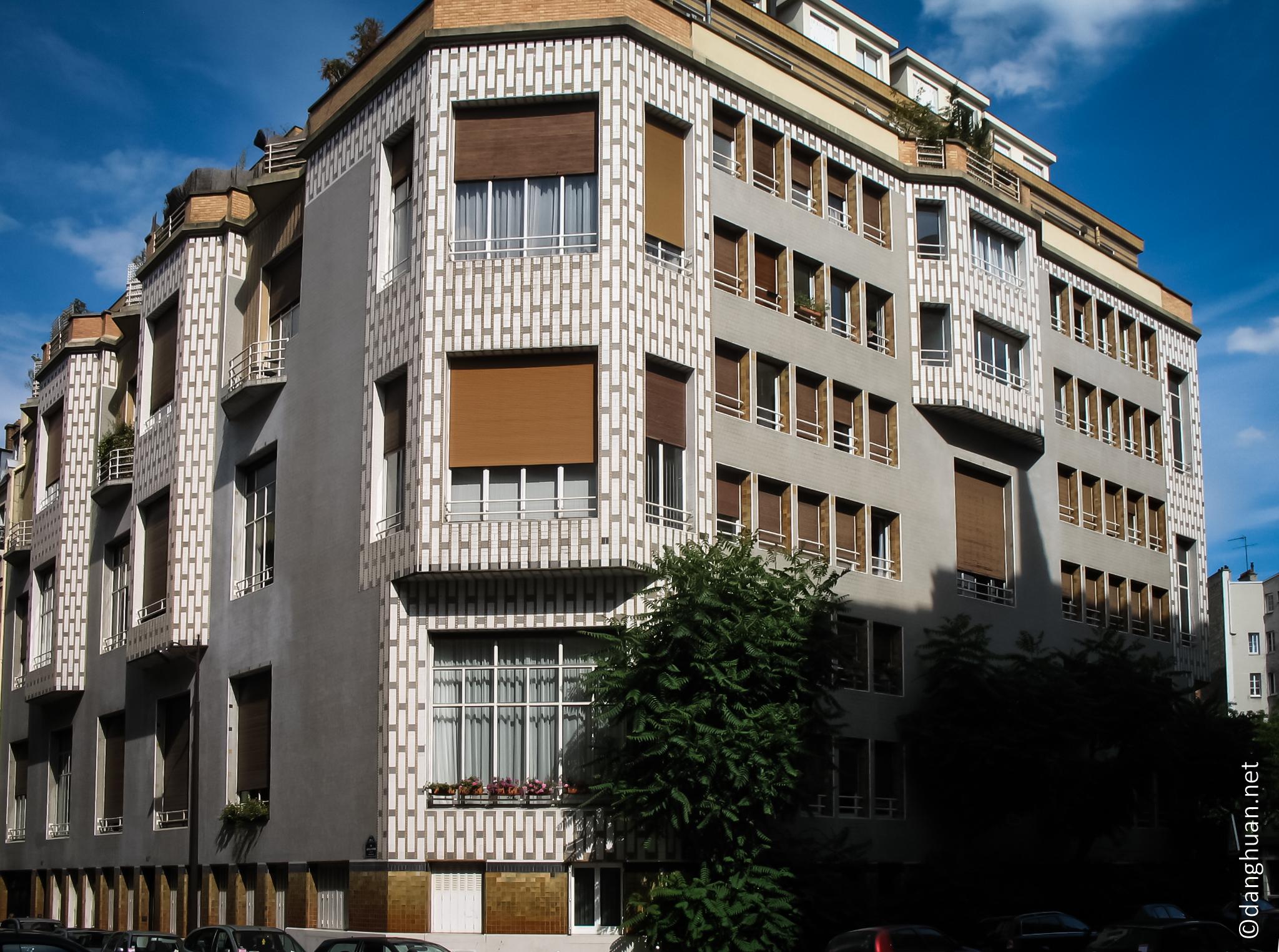 Architecte : Henri Sauvage - 65 Rue de la Fontaine - 1926