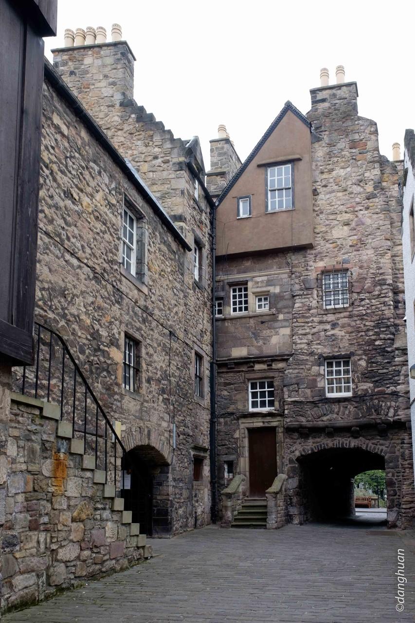 Musée d'Edimbourg - cour intérieur