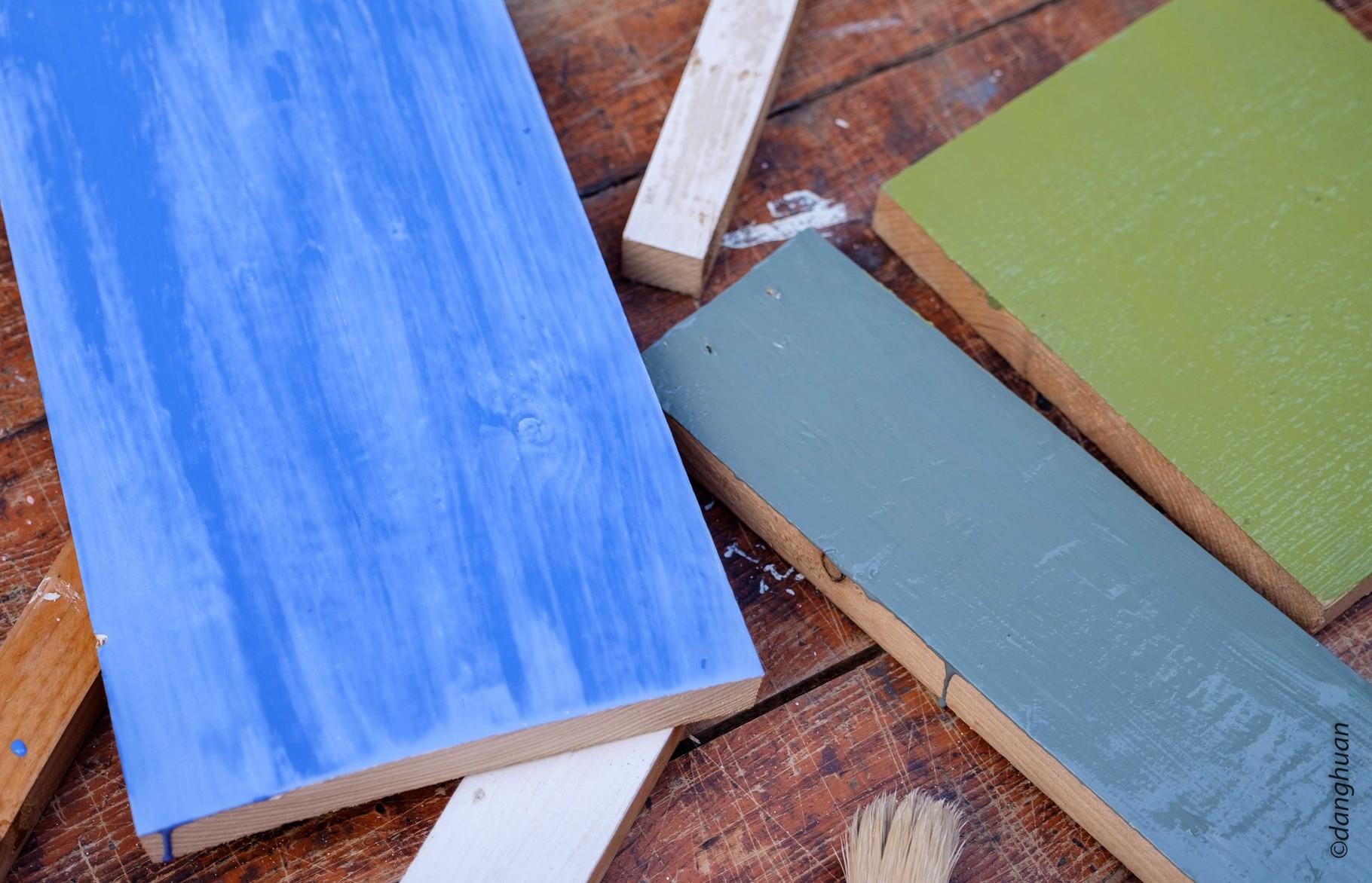 Peintures  écologiques : le rendu