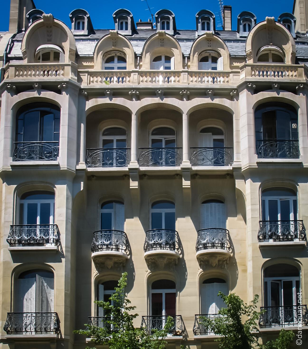 Architecte : Charles Plumet - 50 Av.VictorHugo - 1901