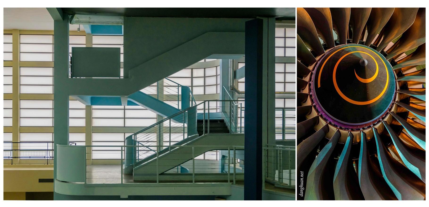 Musée de l'Air et de l'Espace (Le Bourget) : ici l'ancienne aérogare et architecture Art Déco