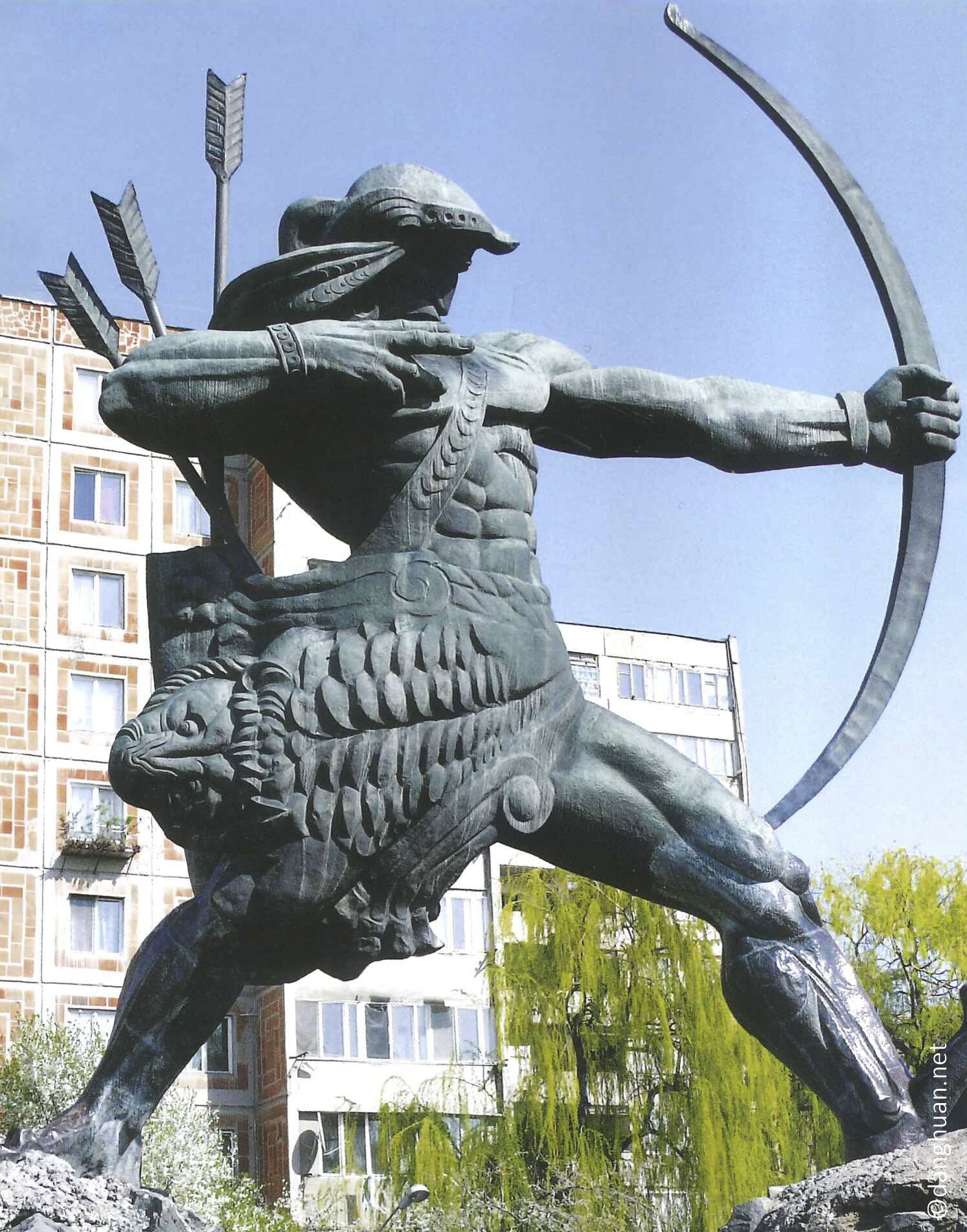 l'éponyme du nom arménien du pays Haïstan est Haïk ...