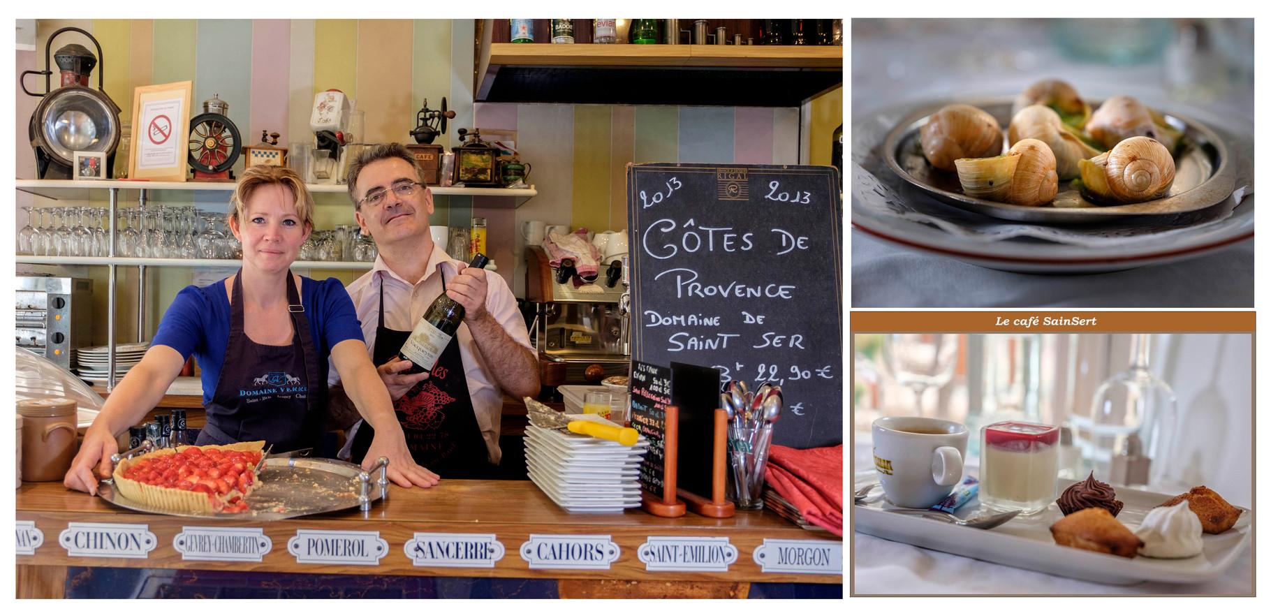 Restaurateurs Stéphane et Isabelle à Puteaux