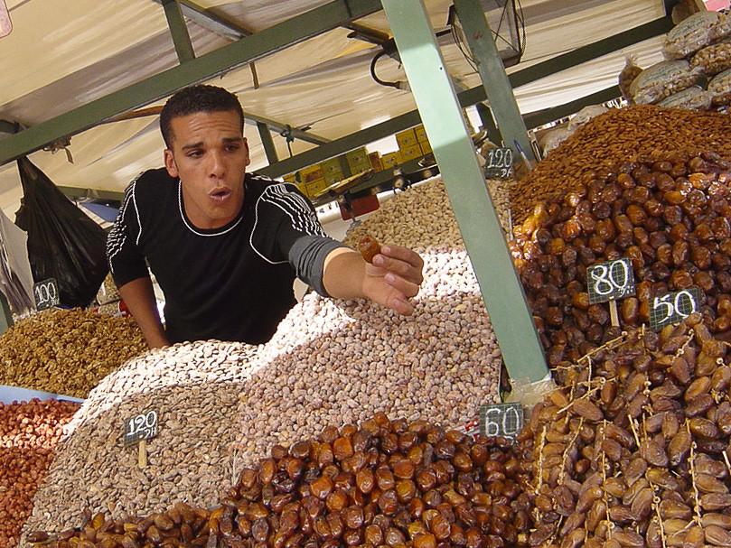 Marrakech - place Jemaa el-Fna