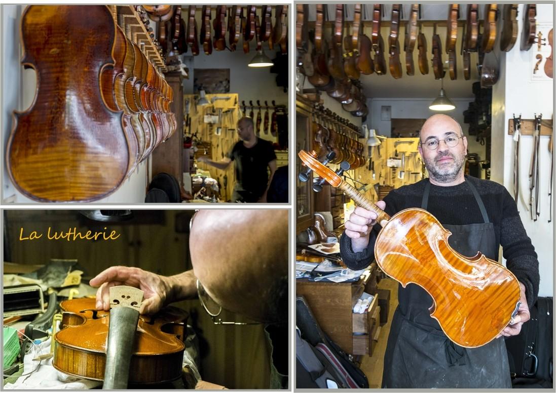 Le luthier COLLADO à Paris