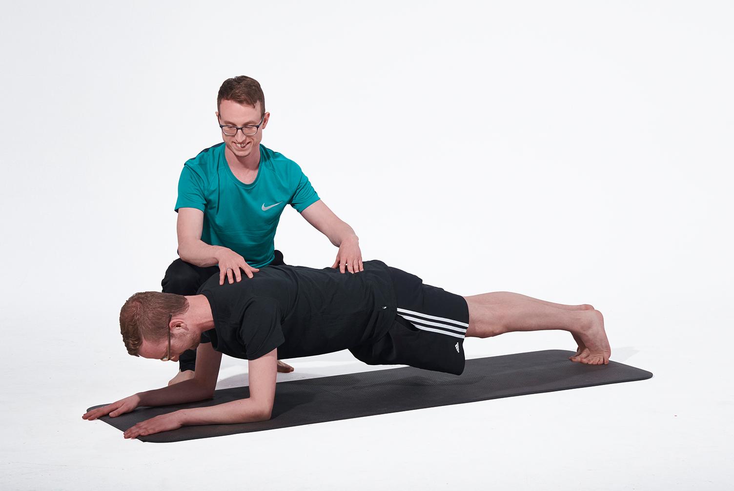 Personal Training Muenchen_Rueckentraining und Bauch Core Workout