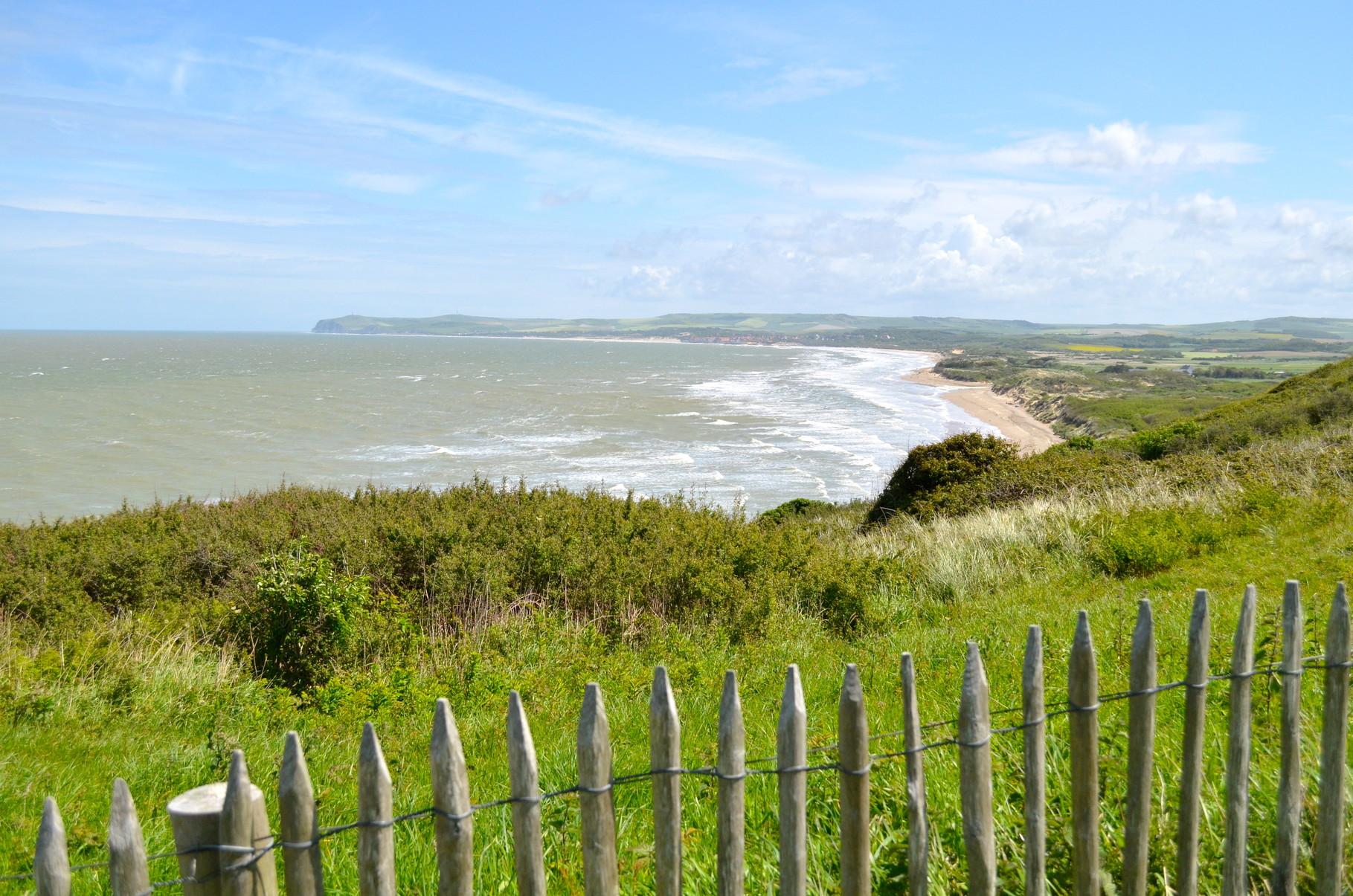 Netter Swell in der Bucht (Blick auf Tardinghen)