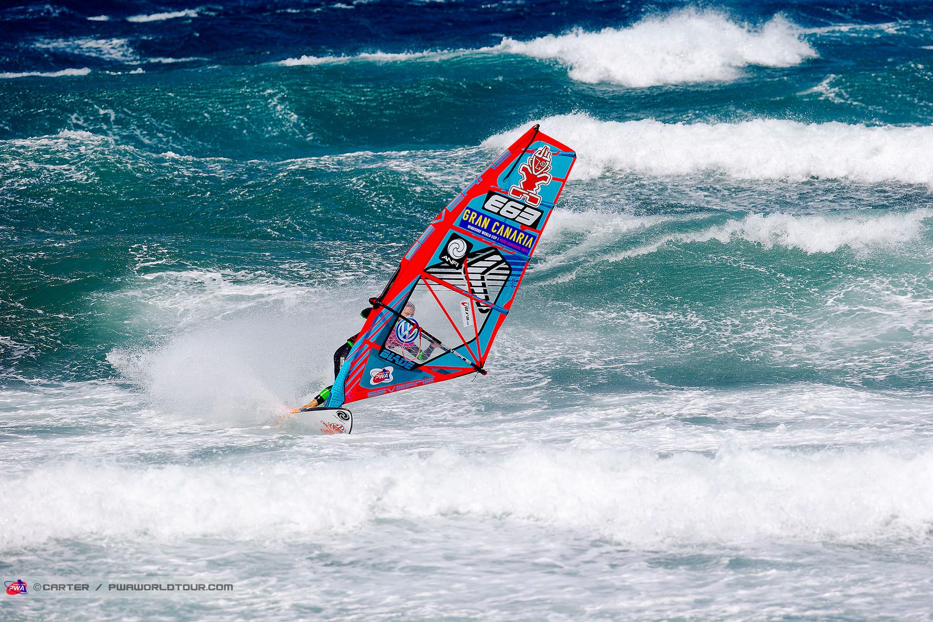Iballa Ruano Moreno wird Zweite. ©Carter PWA