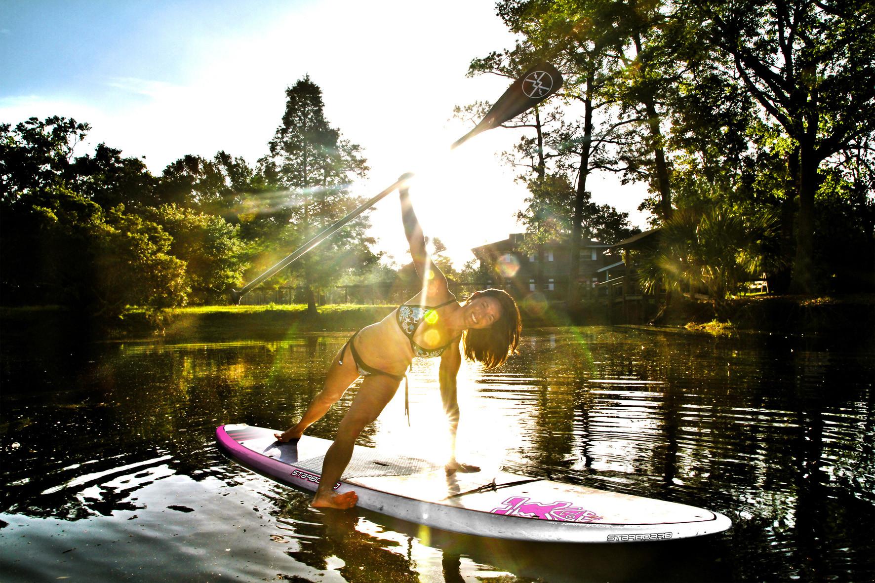 Eine Wellness-Oase auf dem Wasser.