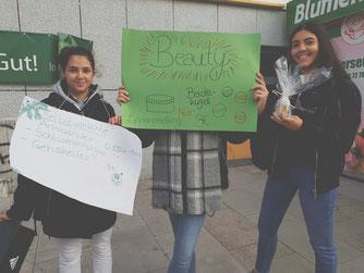 3 CAMPUSUNTERNEHMER präsentieren ihre (Beauty)Idee