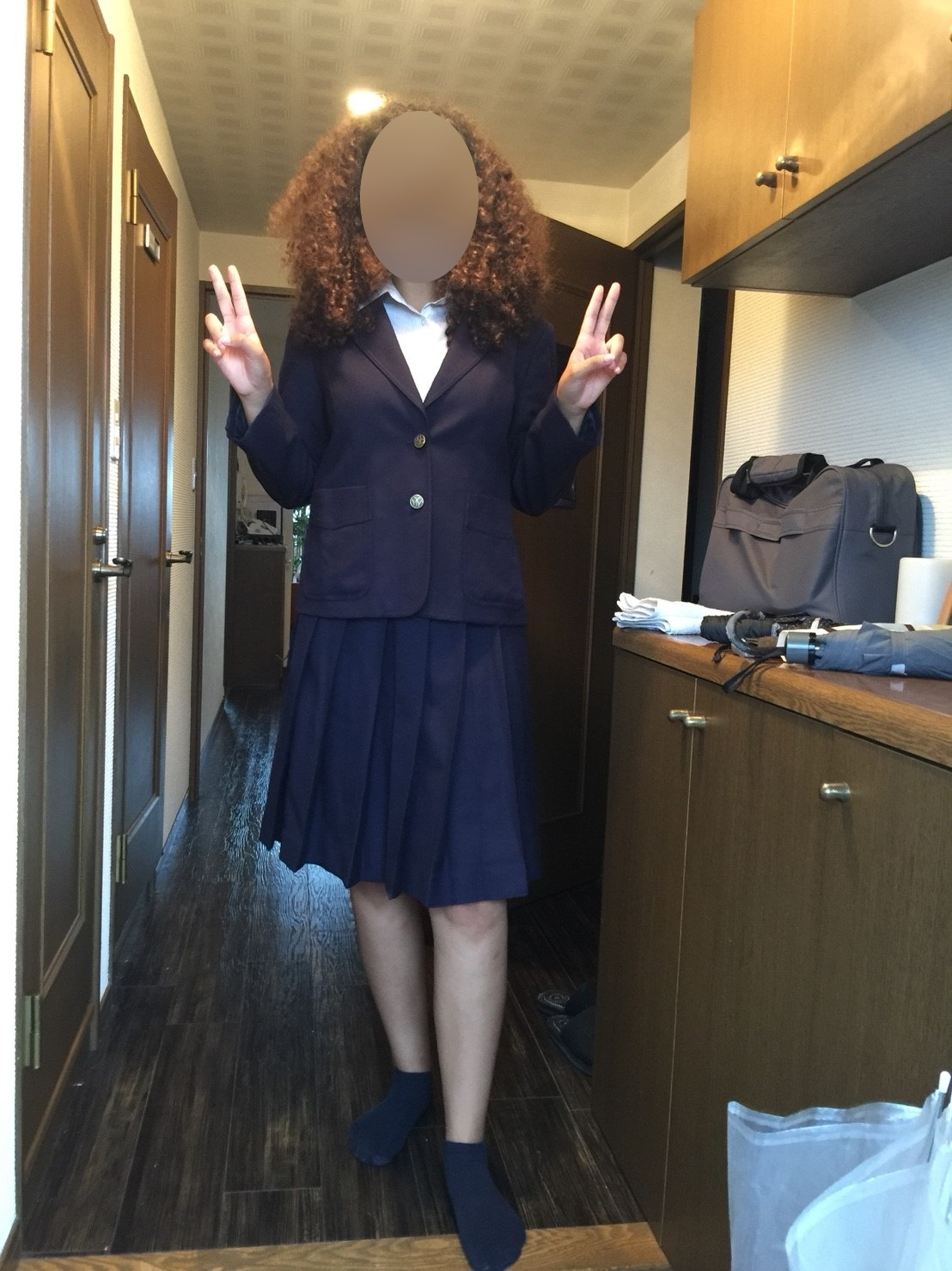 7 Me in a schooluniform - yes, you finally can see the picture