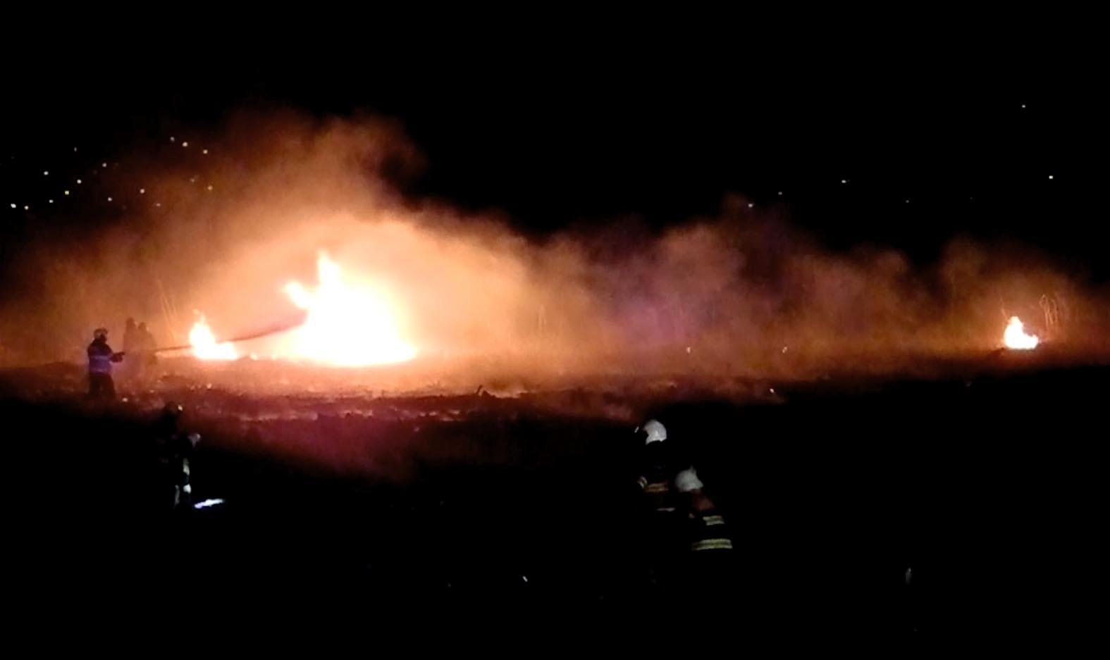 Sihlseeufer in Brand