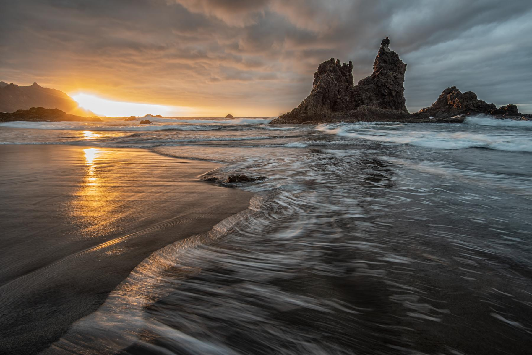 Benijo Sunset