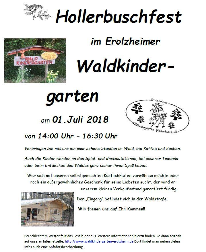 Hollerbuschfest 2018