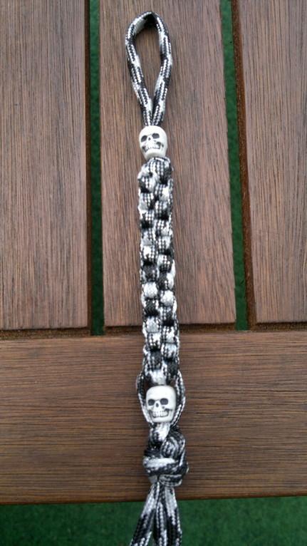 Kundenbestellung Schlüsselanhänger mit 2 Skulls