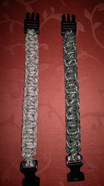 Cobra Stitch oder Portuguese Sinnet oder Solomon Bar genannter Knoten