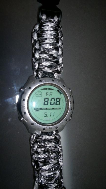 Uhrenarmband bei einer Suunto Uhr