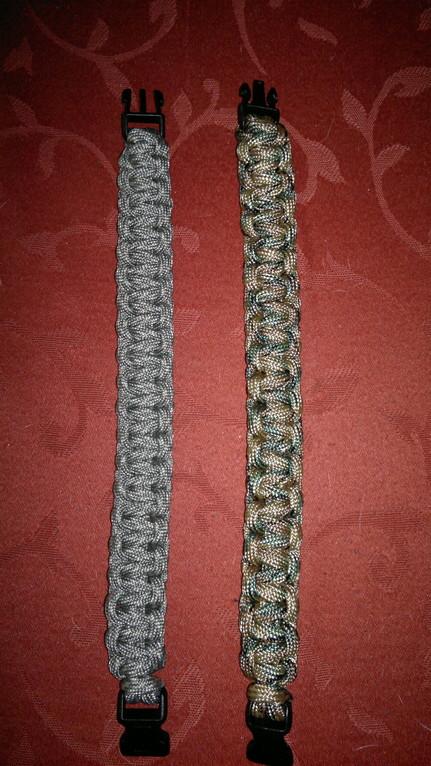 Cobra Stitch Armband