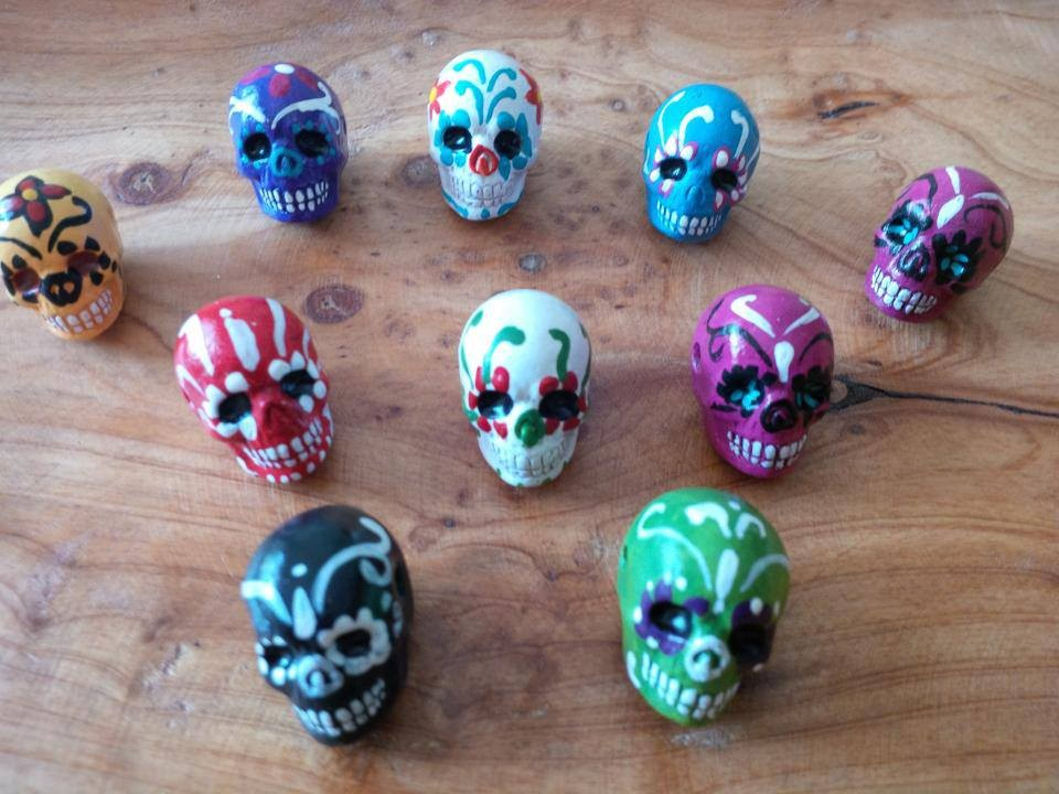 mexikanische skulls