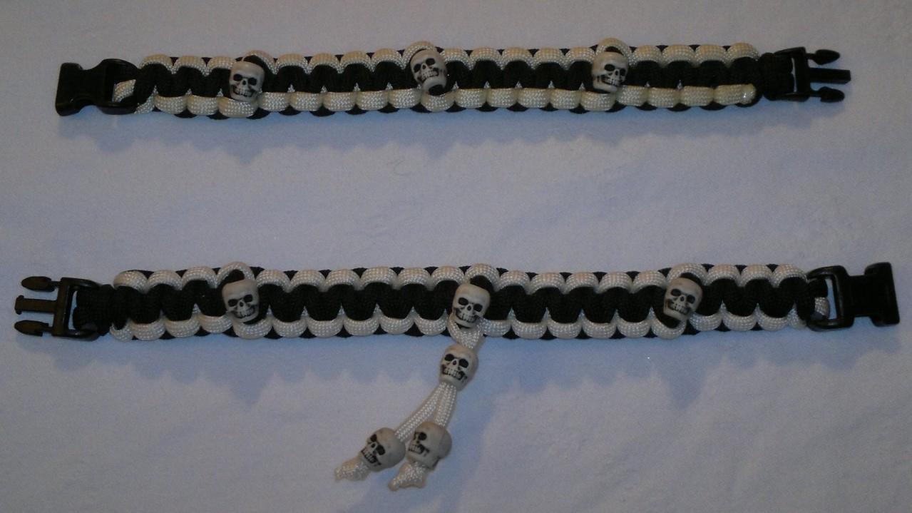 Solomon Knot mit Skulls