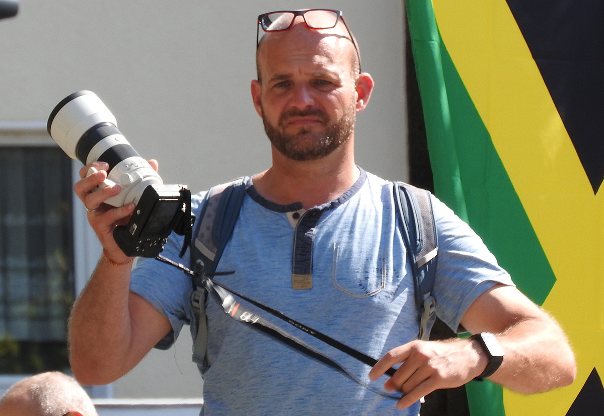 Fotograf Christan Beier will fotografieren