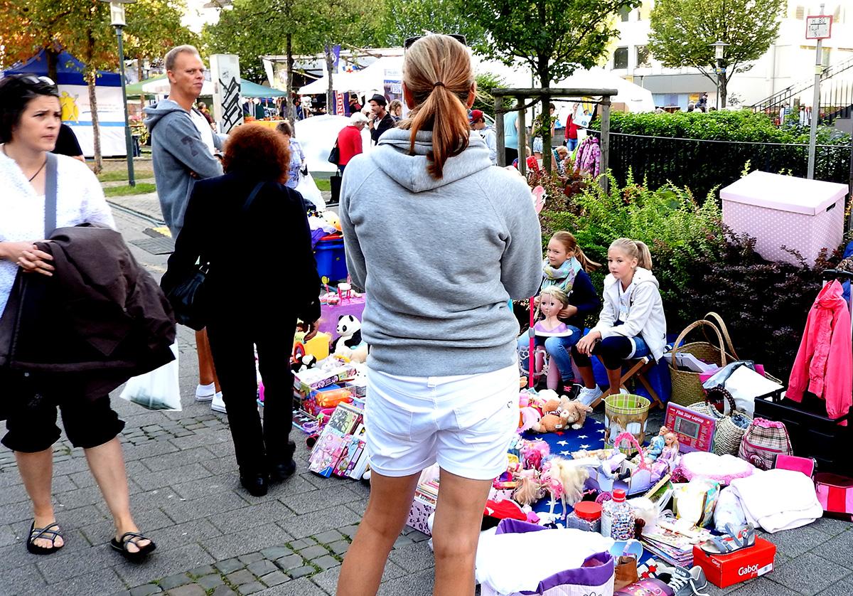 Mütter geraden zuweilen auch mal in Kaufrausch