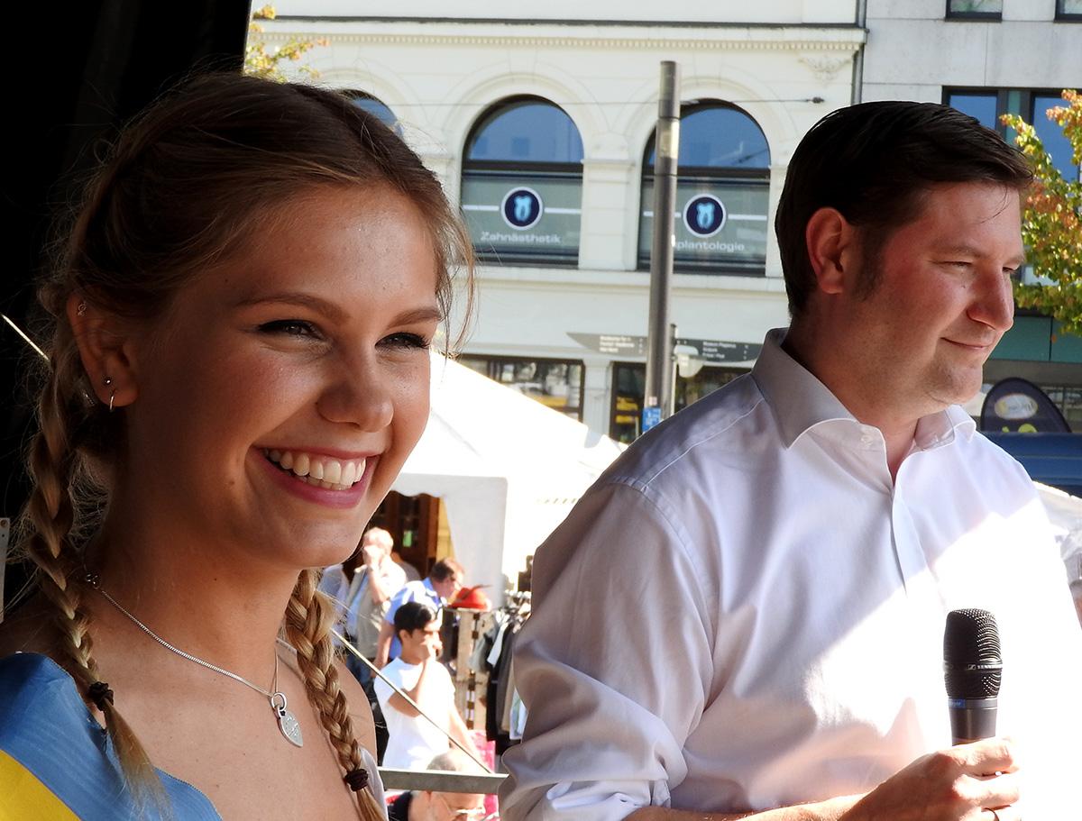 Miss Zöpfchen 2015 erwartet das Ende ihrer Regentschaft mit Freude