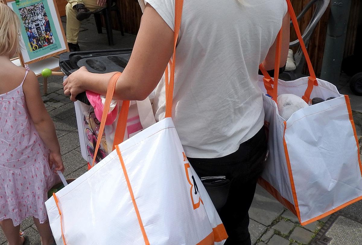 ...und shoppen.