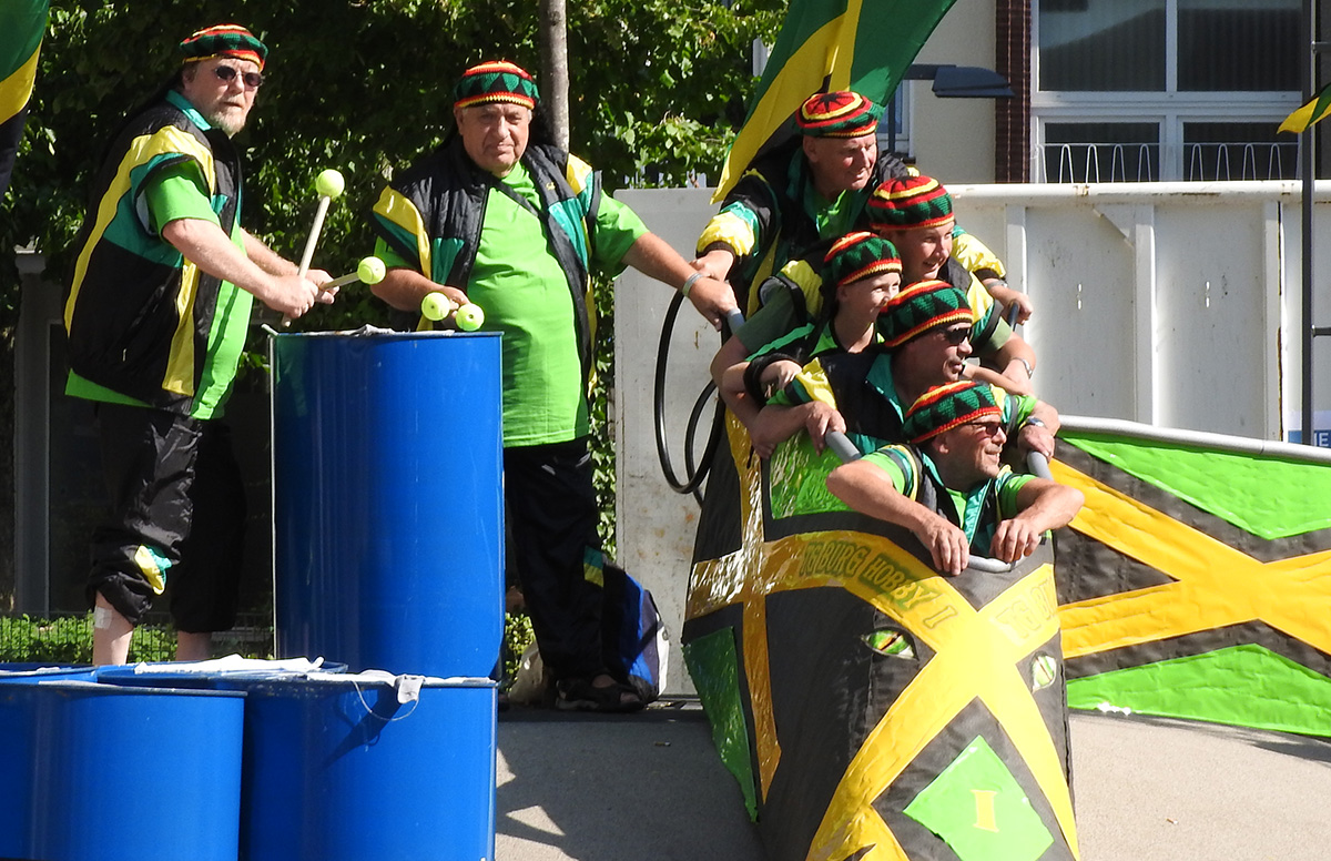 Bobfahren bei Sommerwetter nicht nur in Jamaika