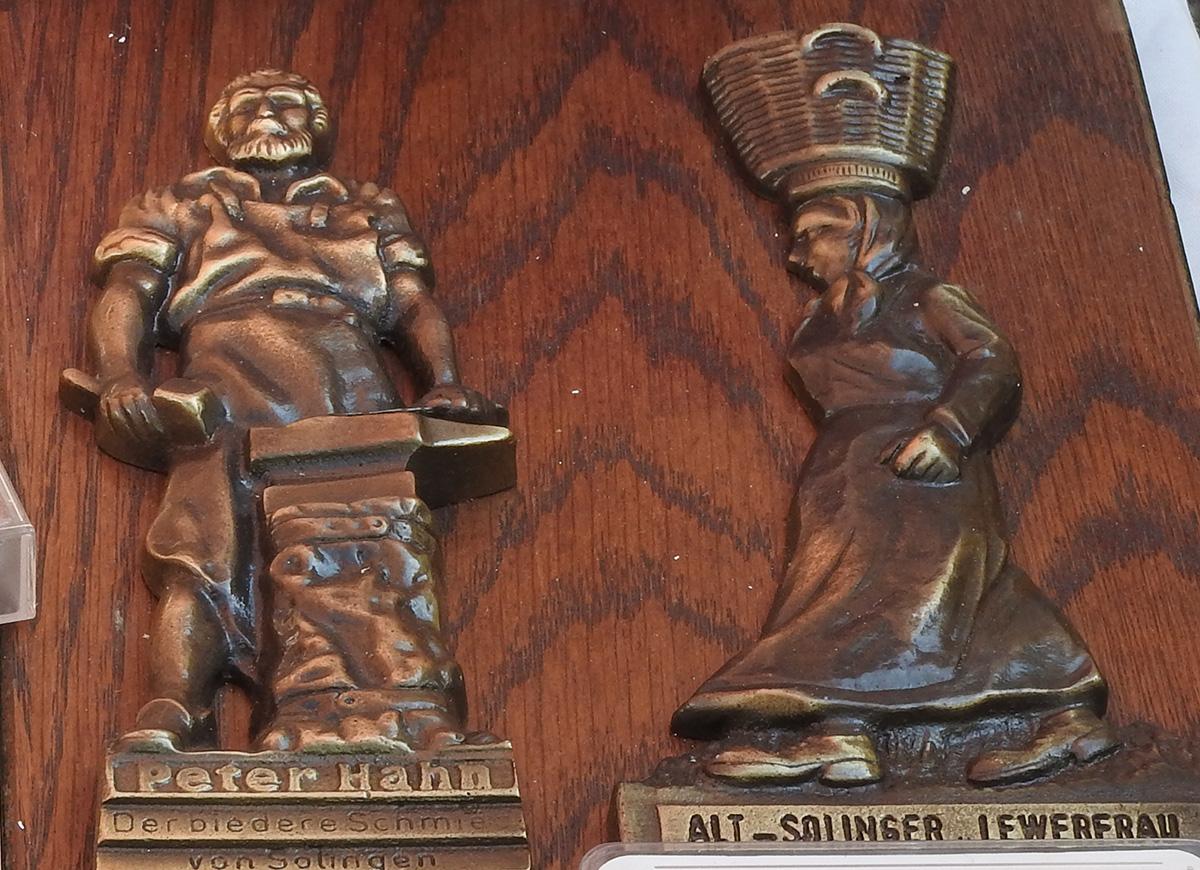 Solinger Symbole im Ramsch