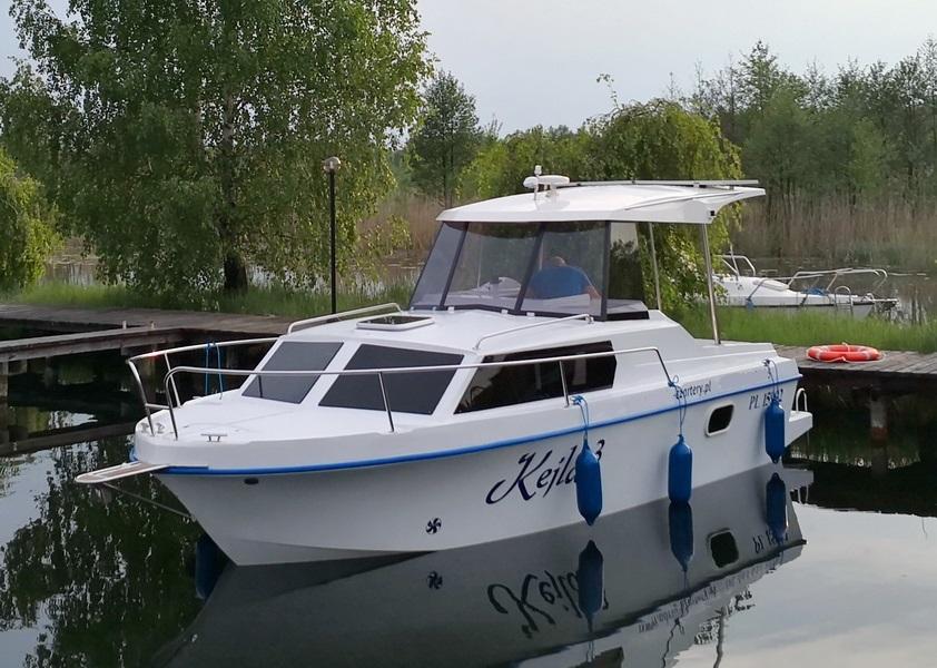 Hausboot LAGUNA CRUISER 700, Masuren, Masurische Seenplatte, Motorboot, Motoryacht, Polen