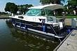 Hausboot Nautica 1000 MARINEBLAU Marinara Charter Czarter Masuren Polen