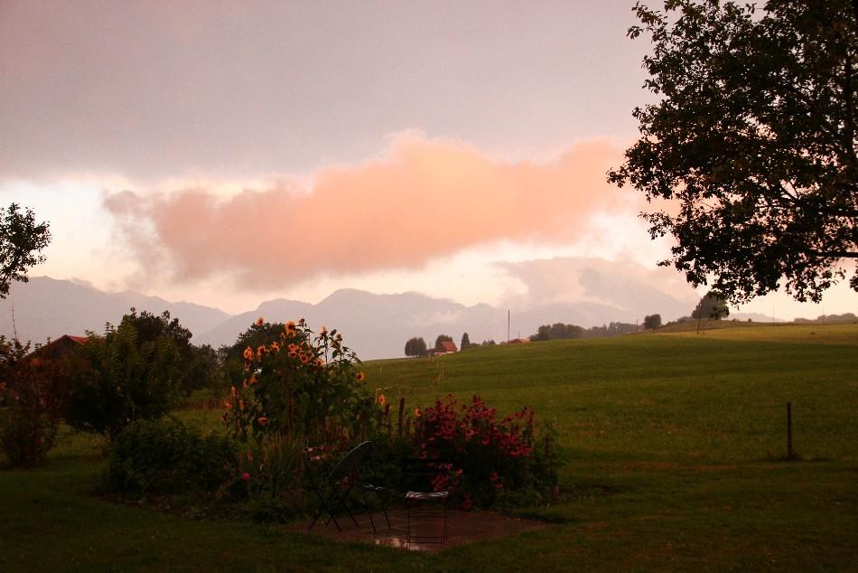 Gewitterstimmung in La Buchille