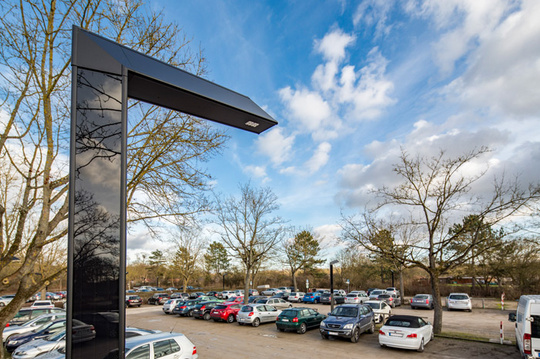 Parkplatzbeleuchtung solar
