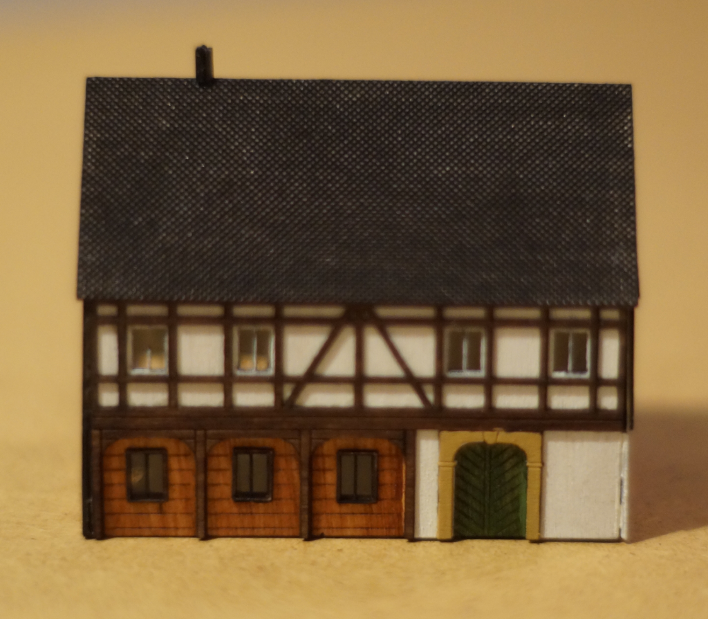N-Scale Ungebindehaus