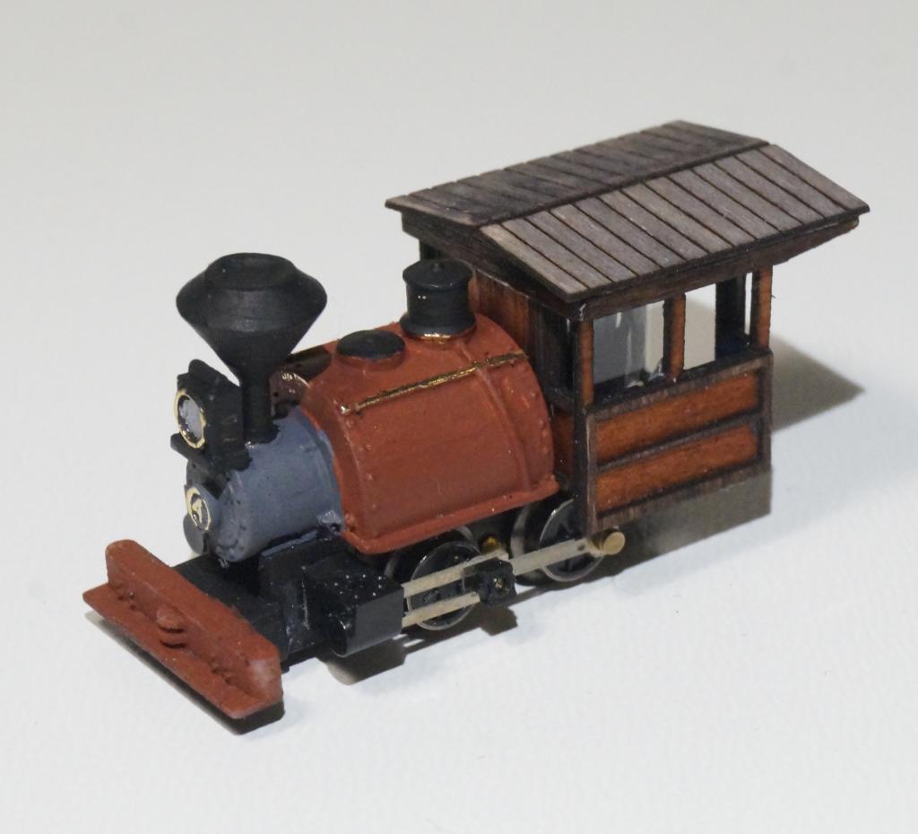 N-scale 0-4-0 Porter